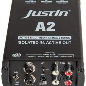Justin A2 Multimedia-DI-Box Stereo